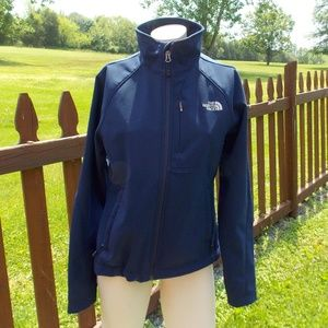 The North Face Navy Blue Soft Shell Jacket Size Sm